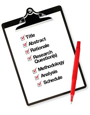 What are the steps involved in writing research proposal